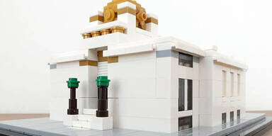 Wiens Prachtbauten aus Lego-Steinen
