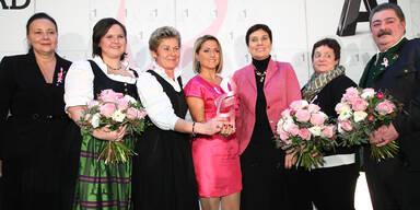 Jeanette überreichte P.R.I.M.A. Award 2012
