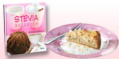 So backen Sie mit Zuckerersatz Stevia