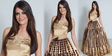 Golpashin: Schoko-Kleid als Aufreger