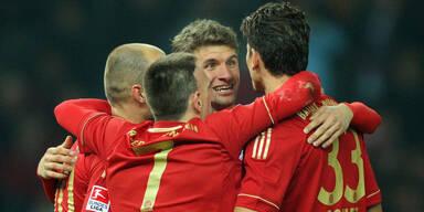 Nächstes Schützenfest des FC Bayern