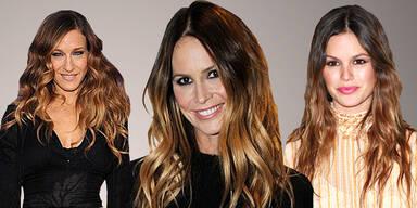 """""""Ombre"""": der neue Haar-Trend aus Hollywood"""