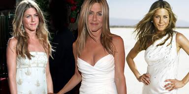 Jennifer Aniston - Brautkleid von Beckham?