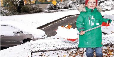 So Schnee wird der  Winter