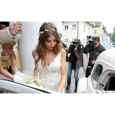 Cathy Fischers Hochzeitskleid