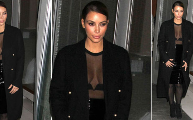 Kim Kardashians Flop-Hingucker