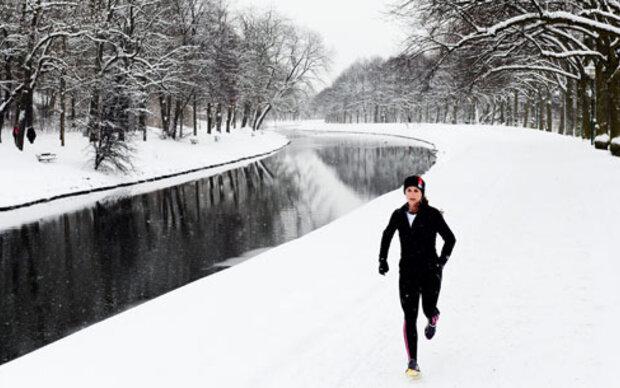 Outdoor-Training trotz klirrender Kälte