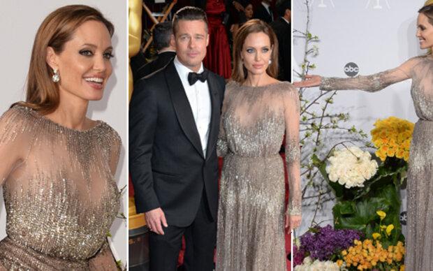Angelina Jolie will Mager-Ärmchen verstecken