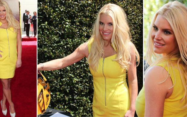 Jessica Simpson zeigt das Ergebnis ihrer Diät