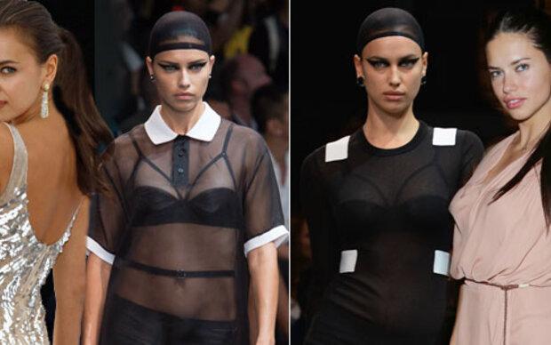 Adriana Lima & Irina Shayk: Zum Verwechseln!