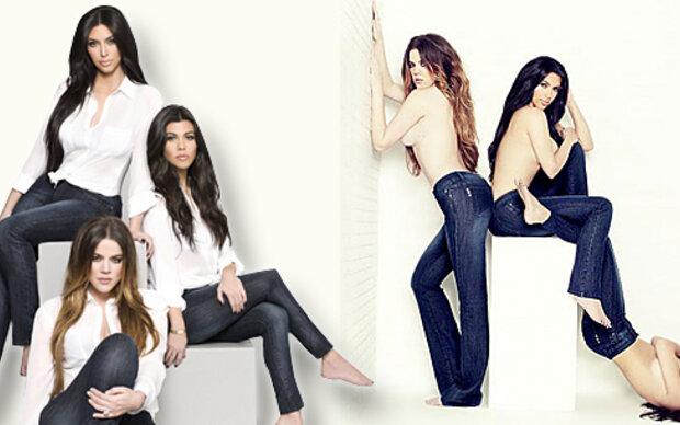 Kardashians oben ohne