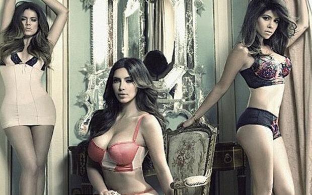 Kardashians: Unterwäsche-Shooting