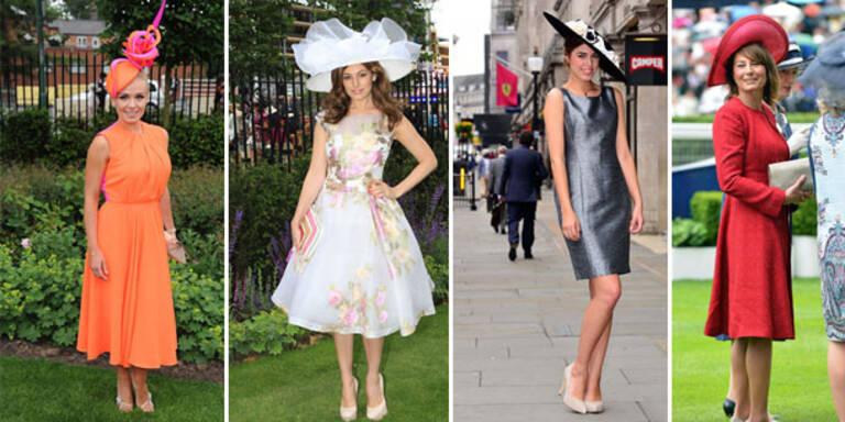 Royal Ascot: Ausgefallene Hüte & Kleider