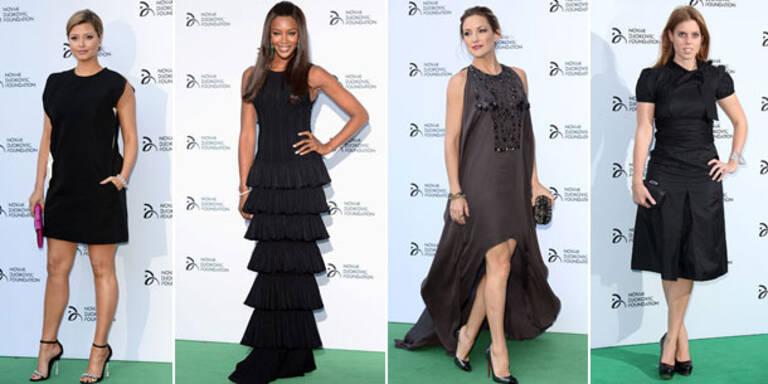 Gothic-Glamour bei  Djokovic Gala