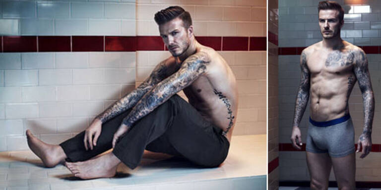 David Beckham zeigt für H&M was er hat