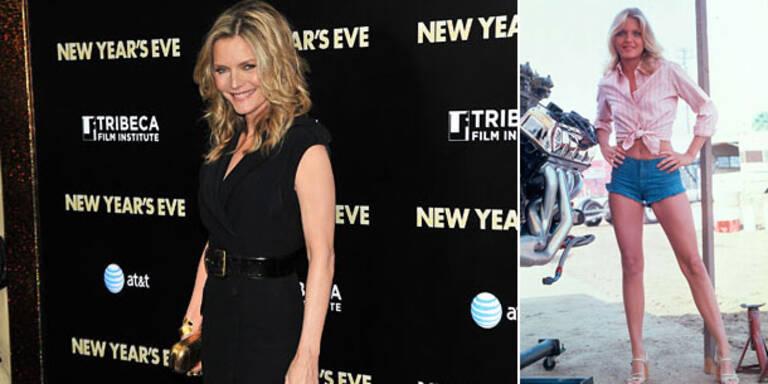 Michelle Pfeiffer: 'Lebte von Marlboro & Cola'