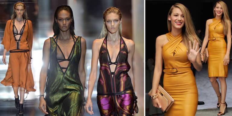 Gucci: Blake stiehlt Designs beinahe die Show