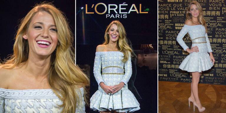 Blake: Sexy Auftritt als neues L'Oreal Gesicht
