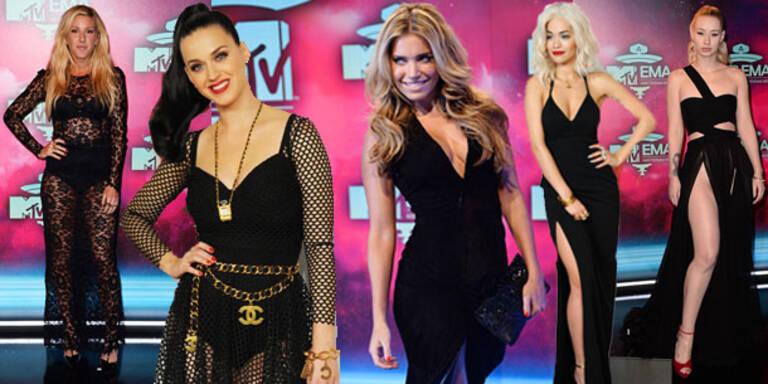 Gothic-Glamour bei den MTV EMA's
