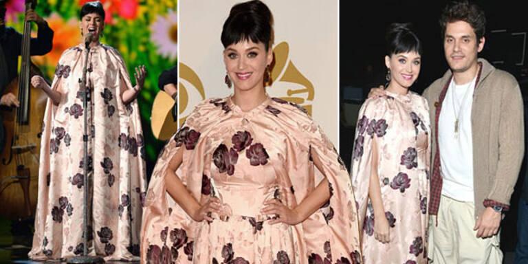 Katy Perry: Im Vorhang zum Beatles-Event
