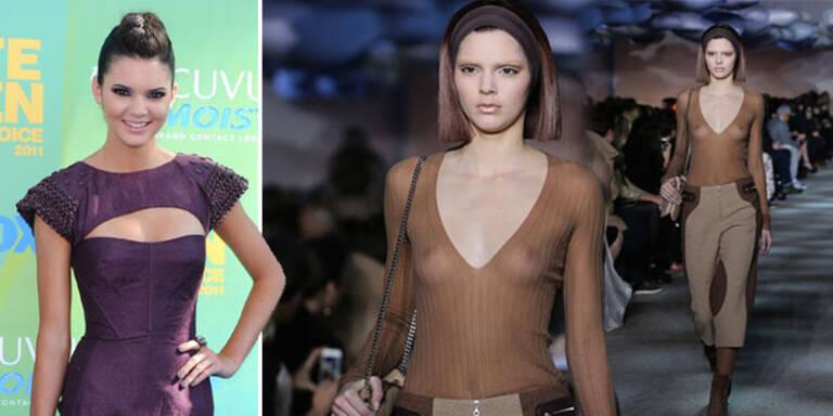 Kardashian-Schwester: fast oben ohne für Marc Jacobs