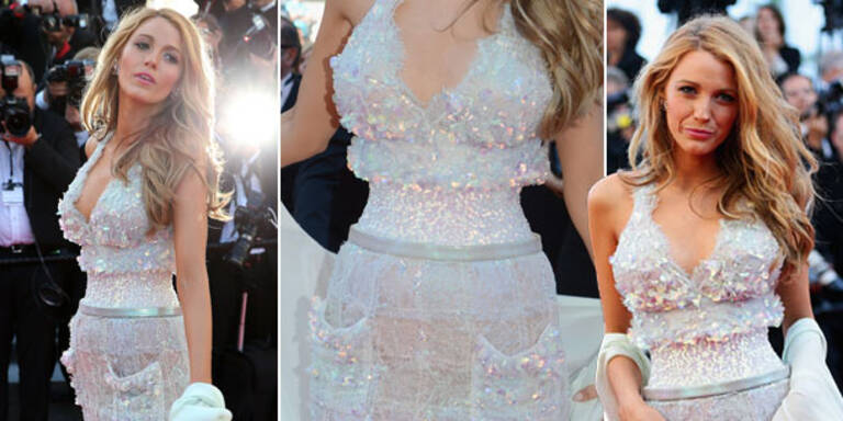 Cannes: Blake Lively zeigt extrem schmale Taille