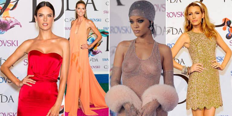 CFDA Fashion Awards: Stars zeigen nackte Haut