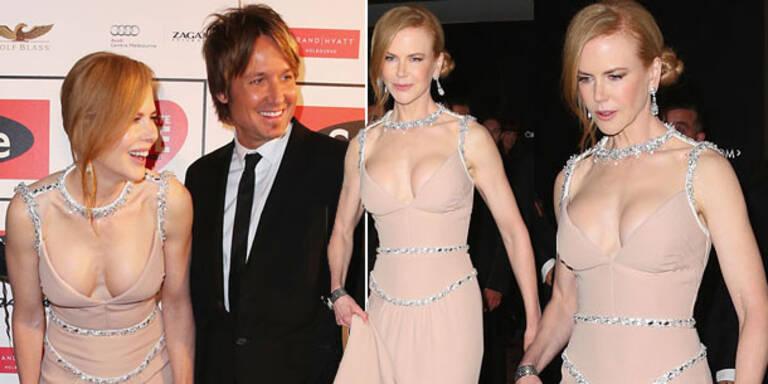 Kidman: Nach Botox-Rückfall jetzt Busen-OP?