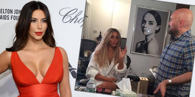 Kim Kardashian: Sie ist wieder blond!