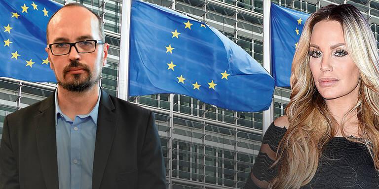 Gina-Lisa: Einladung ins EU-Parlament