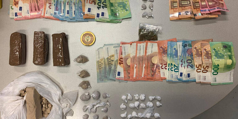Nach Suchtmittelschwerpunktaktion: 13 Personen festgenommen