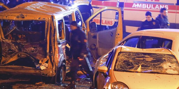29 Tote bei Anschlag in Istanbul