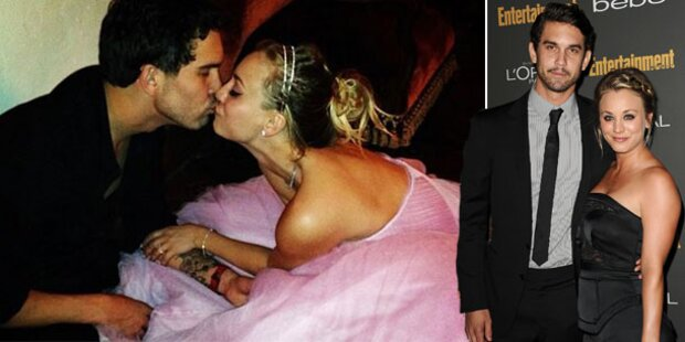 Kaley Cuoco hat an Silvester geheiratet