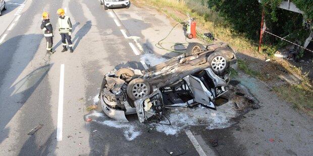 21-Jähriger bei Alko-Unfall getötet