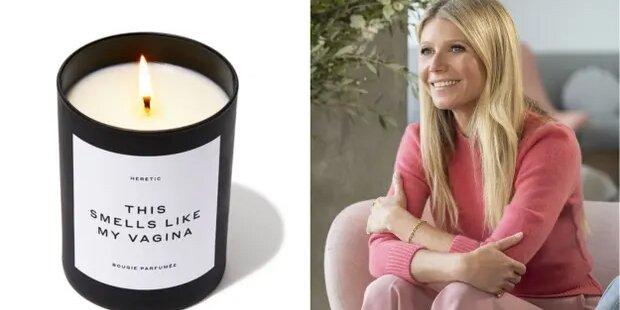 Gwyneth Paltrow verkauft Kerzen, die nach ihrer Vagina riechen