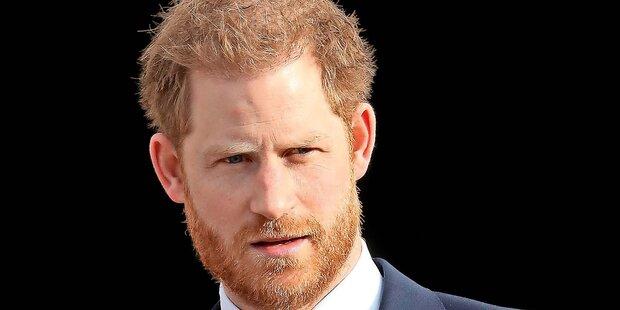 Prinz Harry ist nach Kanada abgeflogen