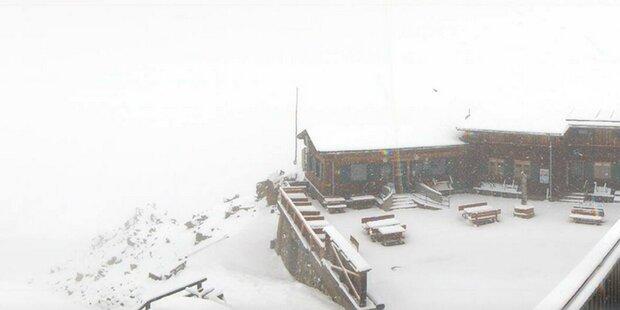 Kälteeinbruch: Schnee mitten im Juni!