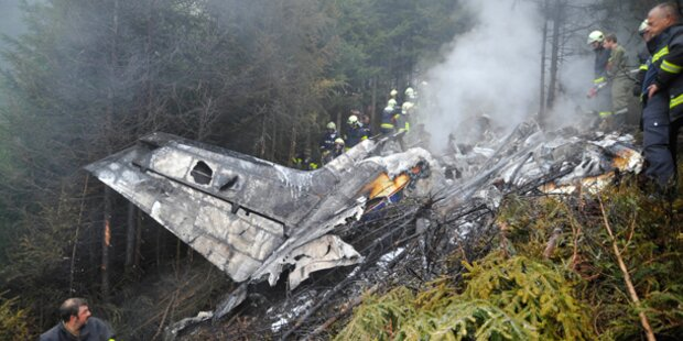 Kleinflugzeug in Tirol abgestürzt