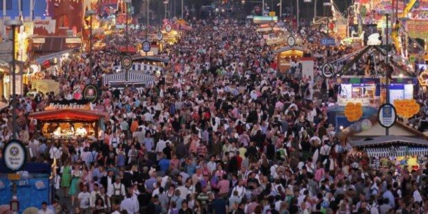 3,6 Millionen Besucher zur Wiesn-Halbzeit