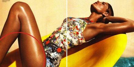 Vogue liefert peinliche Photoshop-Panne