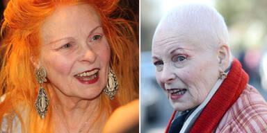 Vivienne Westwood mit Glatze