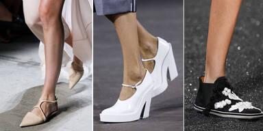 Die Schuh-Trends der Fashion Weeks