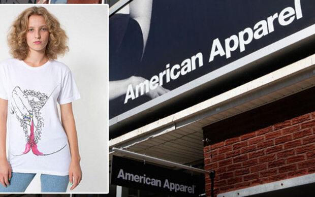 Menstruations-Shirt: Ist American Apparel damit zu weit gegangen?