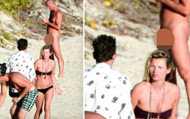 Kate Moss: Ausnahmsweise nicht der Hingucker