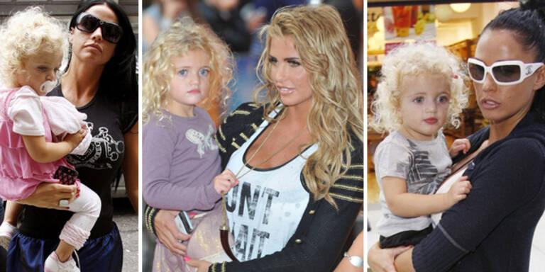 Katie Price stylt ihre Tochter zur Prinzessin