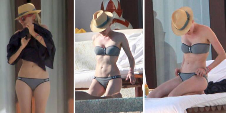 Diane Kruger präsentiert gesunden Body