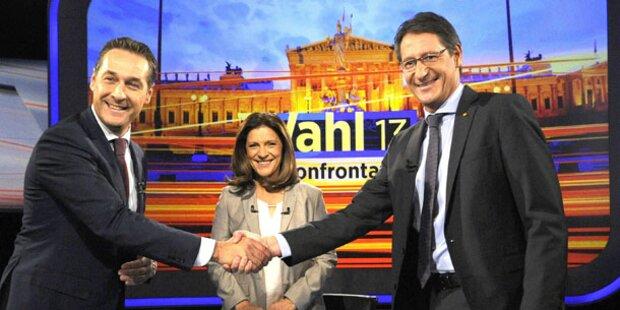 Liebes-Show von BZÖ und FPÖ