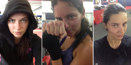 Adriana Lima: 6 Stunden Training am Tag