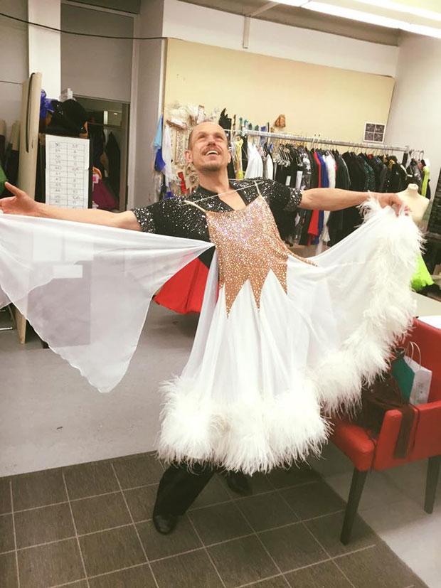 Gery Keszler bei Dancing Stars