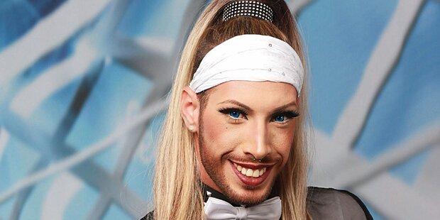 Blonde Wurst für Dieter Bohlen